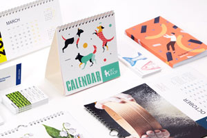 Calendar design and print in Galway Ireland