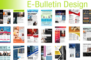 e-marketing and e-bulletin design in Ireland
